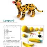 jak vymodelovat leoparda