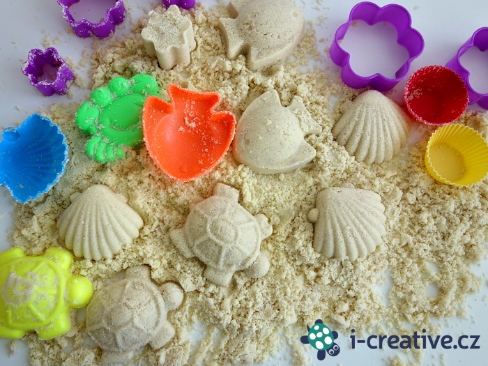 jak vyrobit kouzelný písek