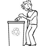 koš recyklování