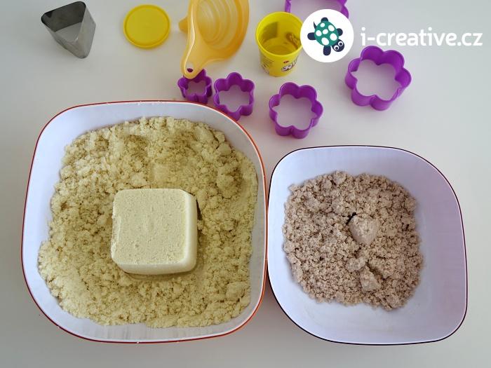 kouzelný písek pro děti na doma
