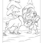 království Ledové omalovánky