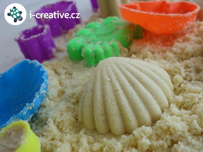 návod jak doma vyrobit měsíční písek