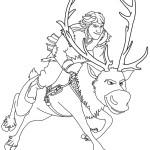 omalovánka - Ledové království