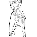princezna Anna Ledové království