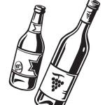 skleněné lahve