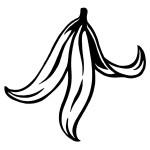 slupka od banánu