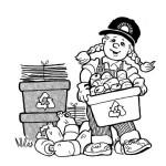 třídění odpadu obrázek