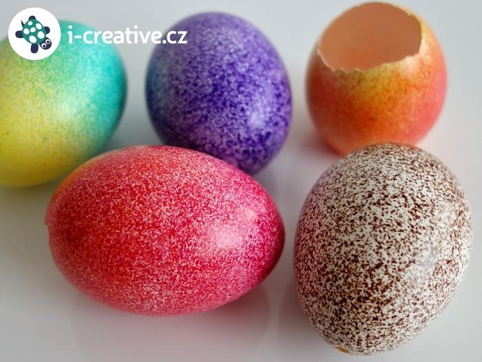 vajíčka foukací fixy na textil