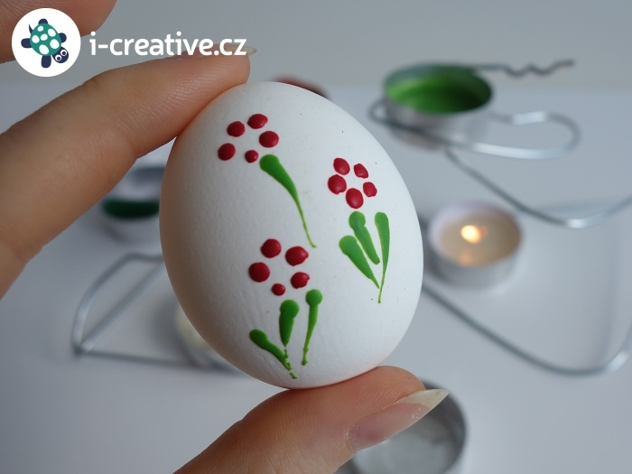 vajíčko malované voskem