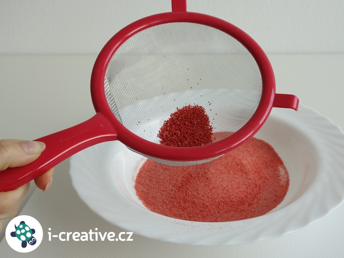 barevné písky domácí výroba