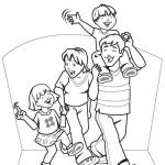 den otců, rodina