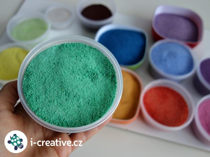 domácí barevné písky