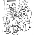 omalovánka Den otců