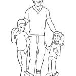tatínek s dětmi