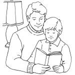 tatínek se synem