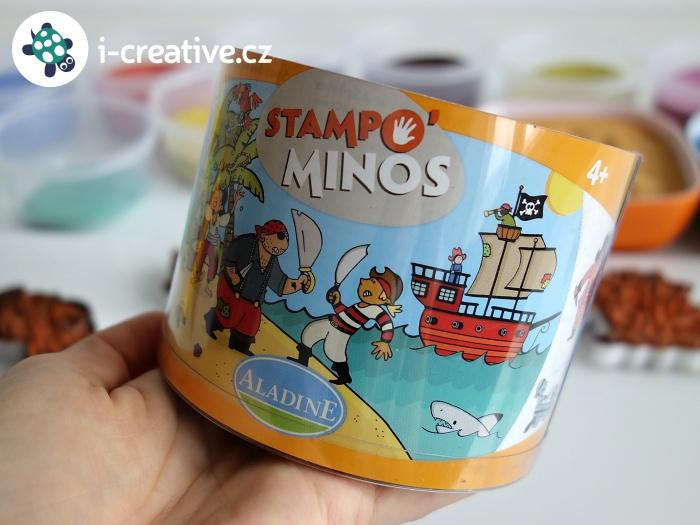 tiskátka Stampo Minos Aladine a barevné písky