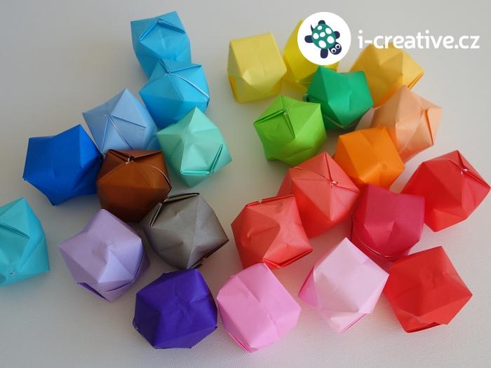 nafukovací origami balónky
