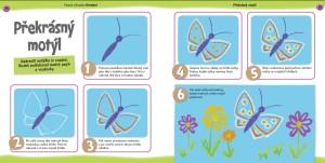 jak nakreslit motýla