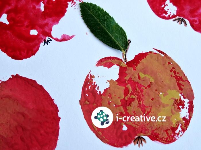 otisk jablka