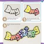 ukázka z knížky Hravá výtvarka pro malé šikuly