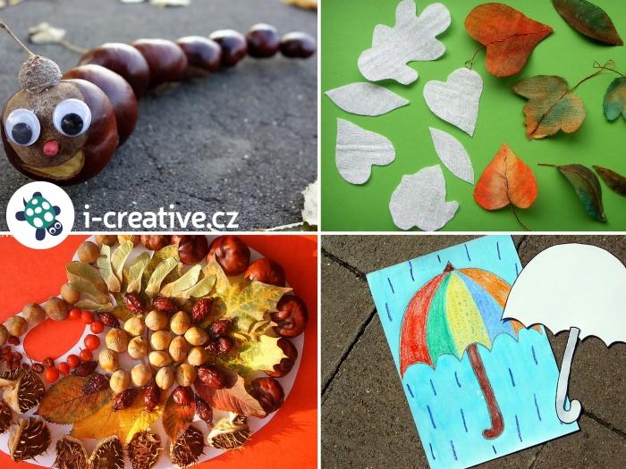 výtvarka podzim inspirace