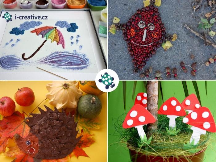výtvarka s dětmi - podzim