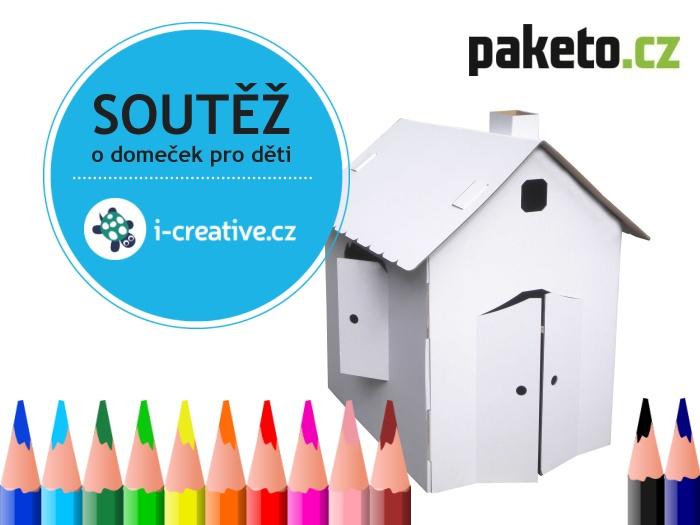 Soutěž o kartonový domeček pro děti