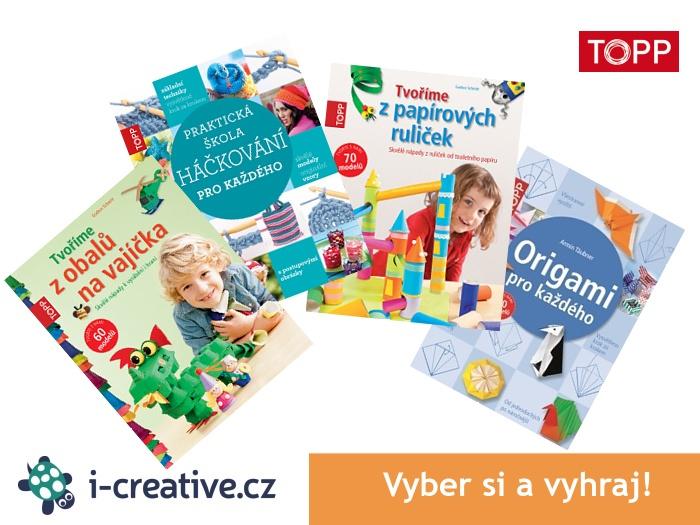 soutěž i-creative.cz o knížky TOPP