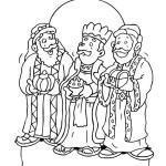 Tři králové obrázek