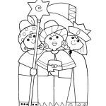 omalovánka Tři králové