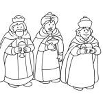 omalovánky na téma Tři králové