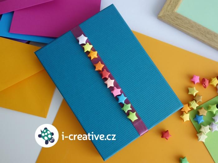 origami mini hvězdičky
