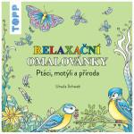 Relaxační omalovánky Ptáci, motýli a příroda