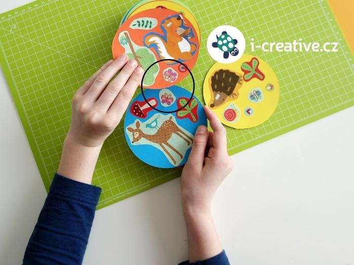 jak vyrobit dětskou hru dobble