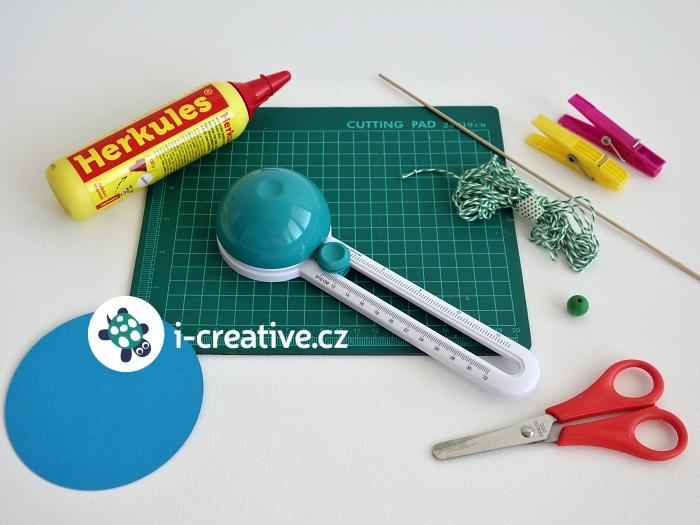 jak vyrobit dekorační kouli z papíru