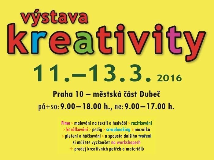 výstava kreativity Dubeč 2016