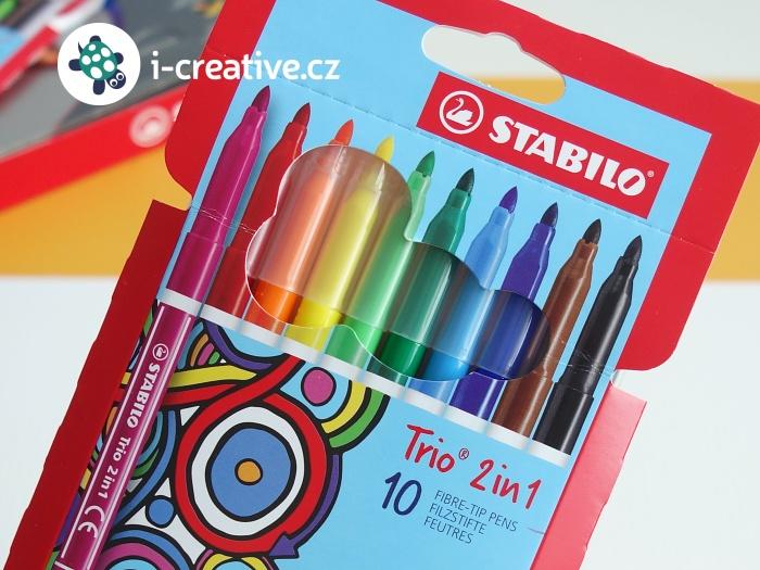 fixy Stabilo Trio 2v1