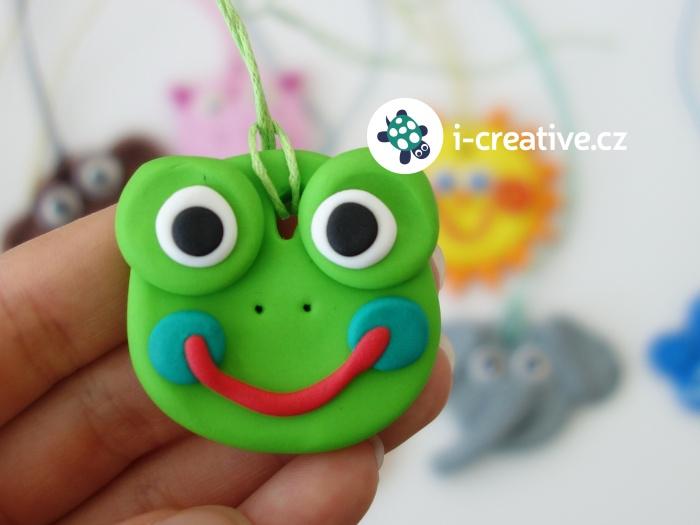 modelování s s dětmi - žába