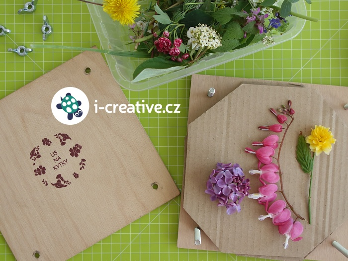 montessori lis na květiny pro děti