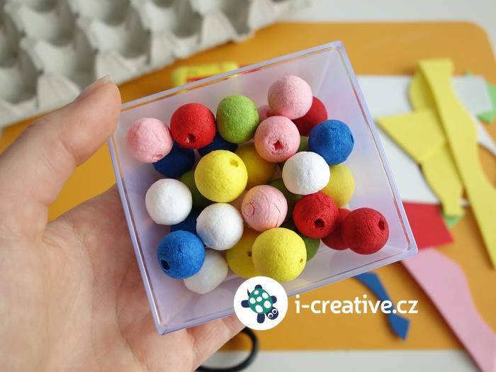 montessori procvičování barev