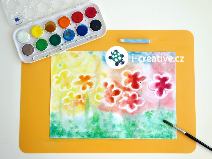květinová louka - zapouštění vodovek