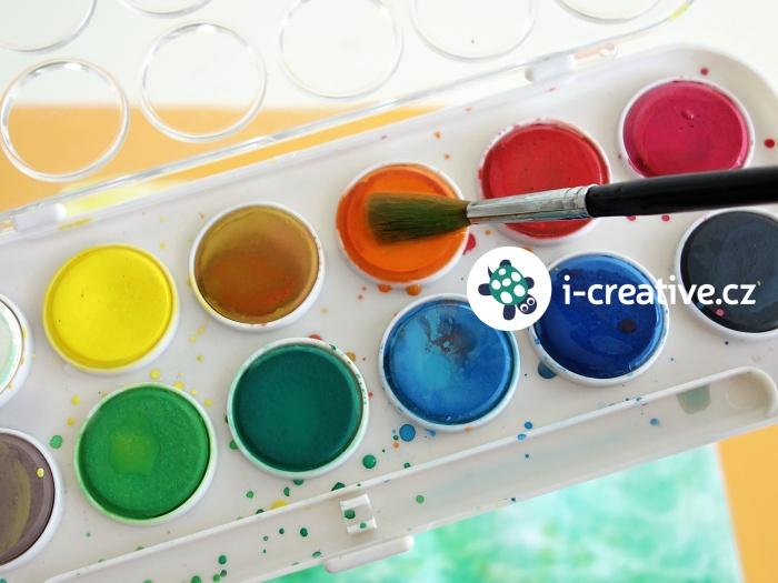 vodové barvy