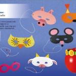 karnevalové masky z papíru