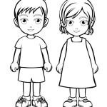 děti omalovánka