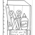 výtvarné a školní potřeby omalovánka