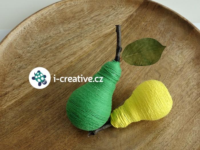Hruška DIY dekorace
