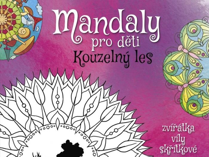 Mandaly pro děti - Kouzelný les Fragment