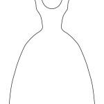 pracovní list šaty pro maminku