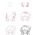 jak nakreslit kraba