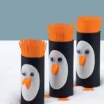 jak vyrobit tučňáka z roličky